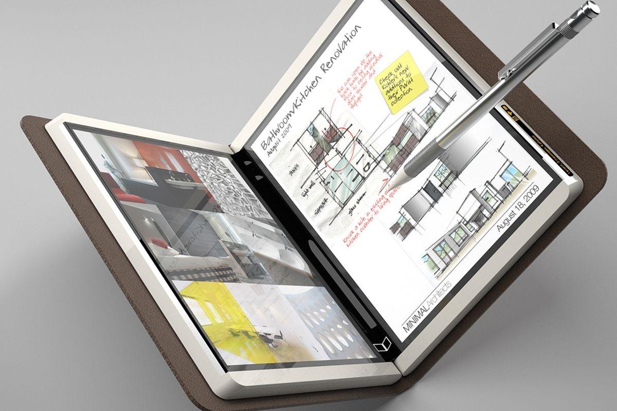 Imagem de Nova patente mostra um Microsoft Surface dobrável e com duas telas no tecmundo