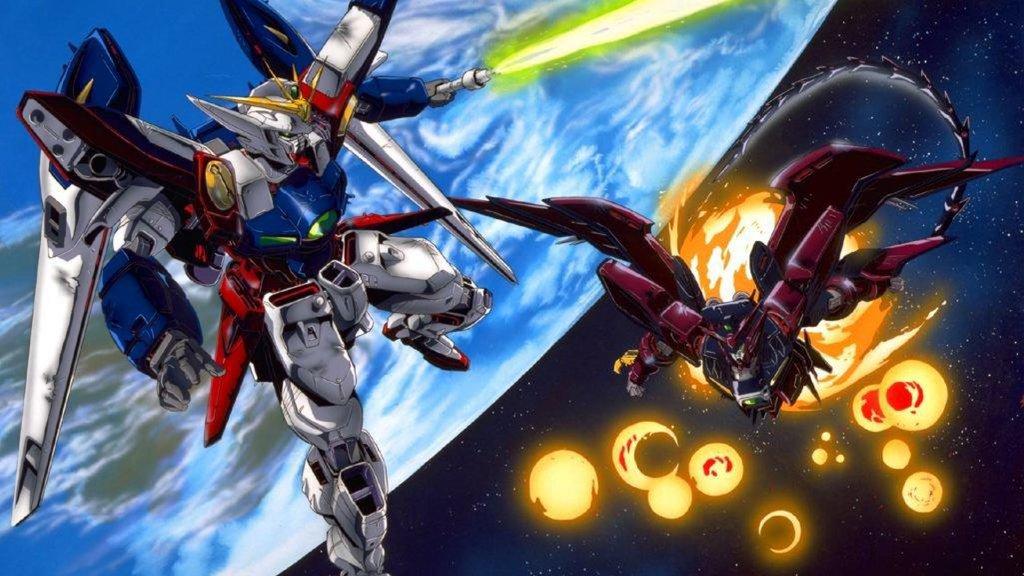 Gundam Wing Zero vs Epyon