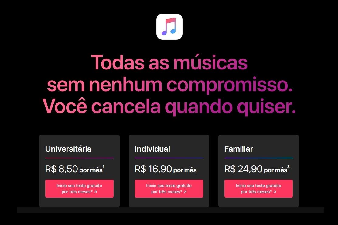 Imagem de App Store, Apple Music, iTunes e iCloud começam a cobrar em real no tecmundo