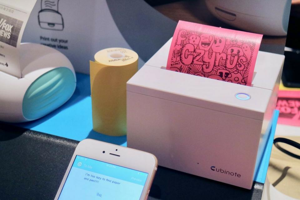 Imagem de Conheça a Cubinote, uma impressora para imprimir seus próprios Post-Its no tecmundo