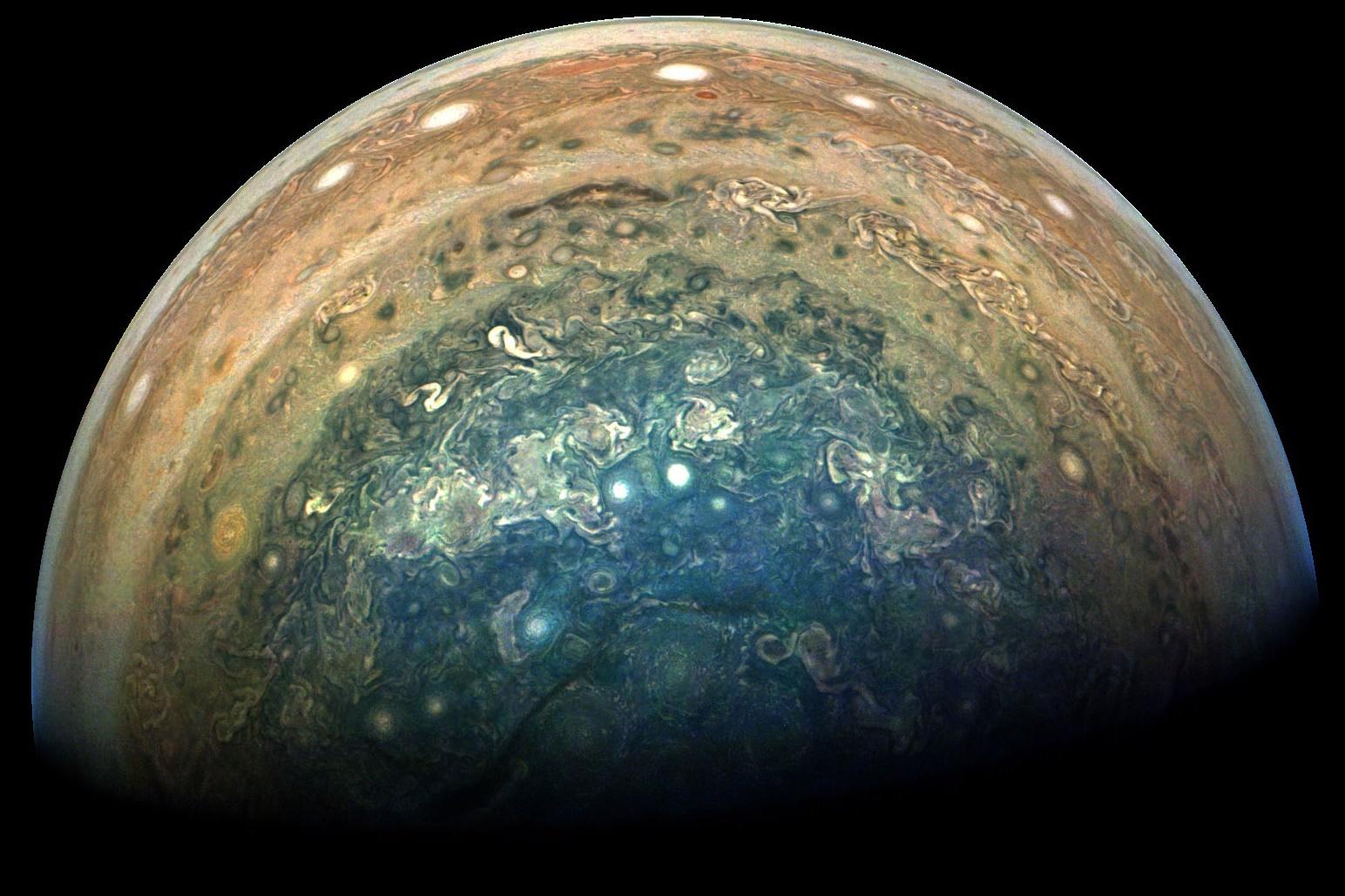 """Imagem de Aprecie este """"novo"""" e impressionante ângulo de Júpiter [foto] no tecmundo"""