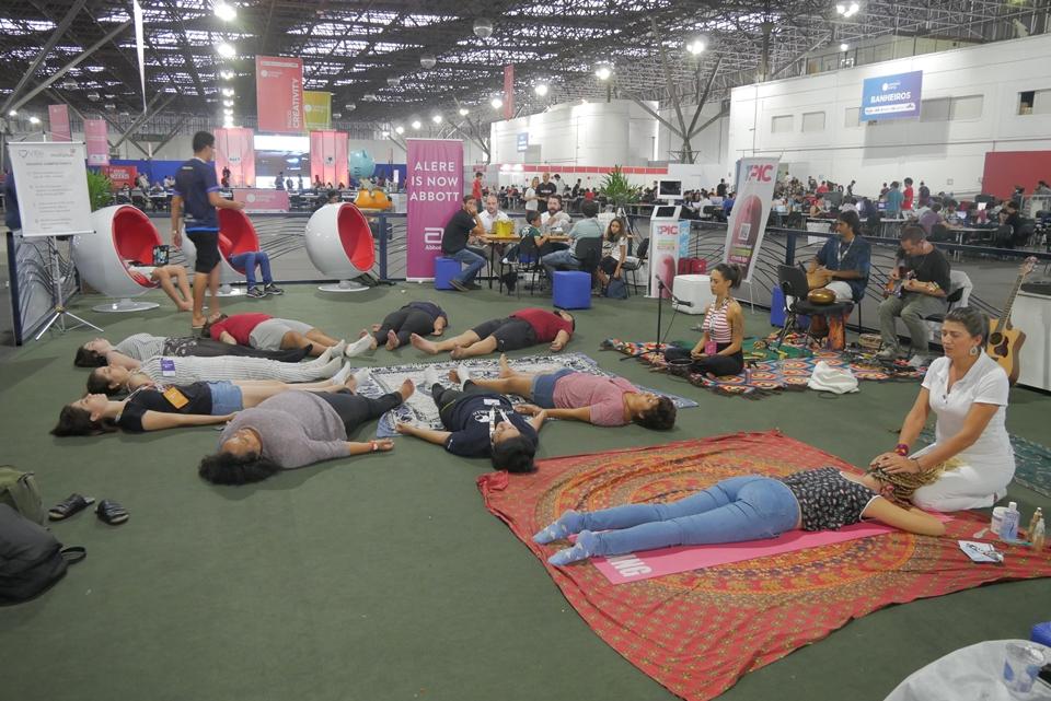 Imagem de Tecnologia é bom! Mas às vezes é preciso parar e respirar na Campus Party no tecmundo