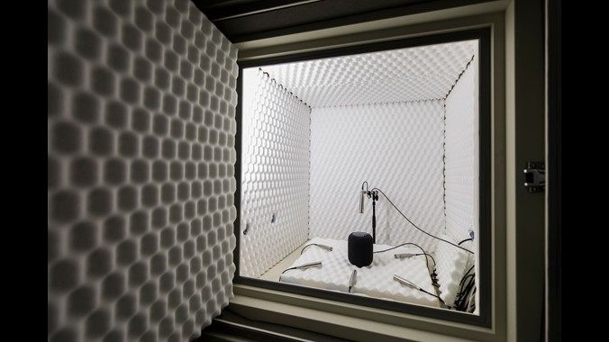 apple laboratório de áudio