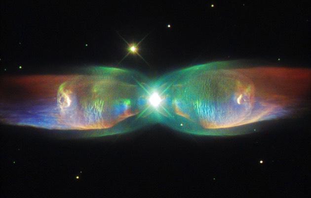Nebulosa dos Jatos Duplos