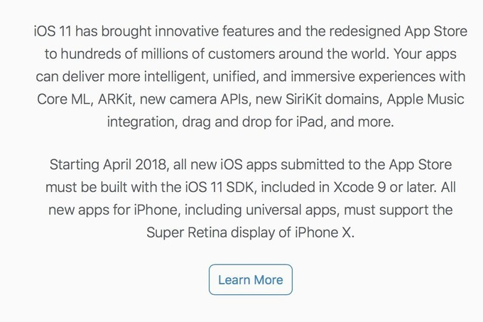 Apple altera regras de novas aplicações na App Store