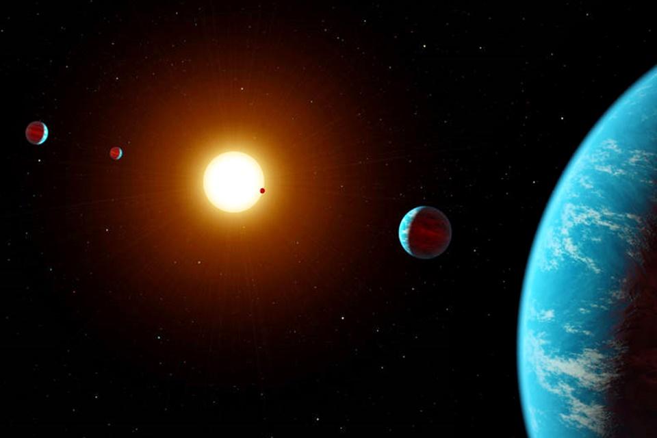 """Imagem de """"Caçador de exoplanetas"""" da NASA encontra mais 95 mundos alienígenas no tecmundo"""
