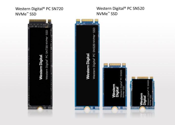 SSDs da Western Digital.