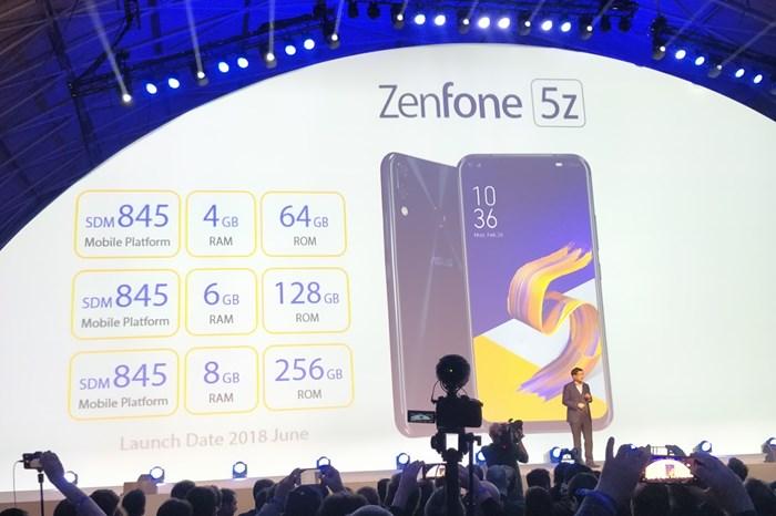 ASUS Zenfone 5z especificações