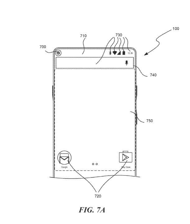 Um desenho de um smartphone.