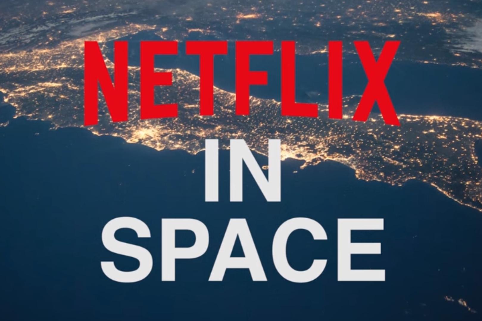 Imagem de Porque tudo fica melhor no espaço, a Netflix levou seu serviço para lá no tecmundo