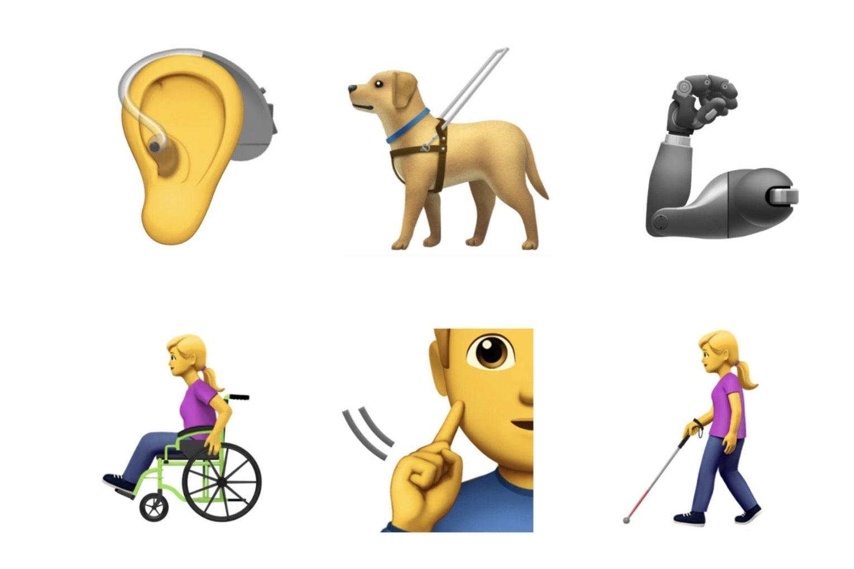 Imagem de Apple pede que Unicode crie 13 novos emojis para pessoas com deficiência no tecmundo