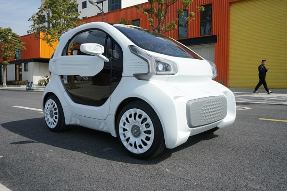 Imagem de Conheça o LSEV, um carro elétrico e feito com impressão 3D no tecmundo