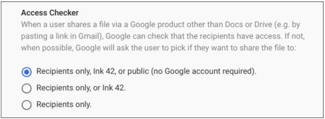 google drive compartilhamento