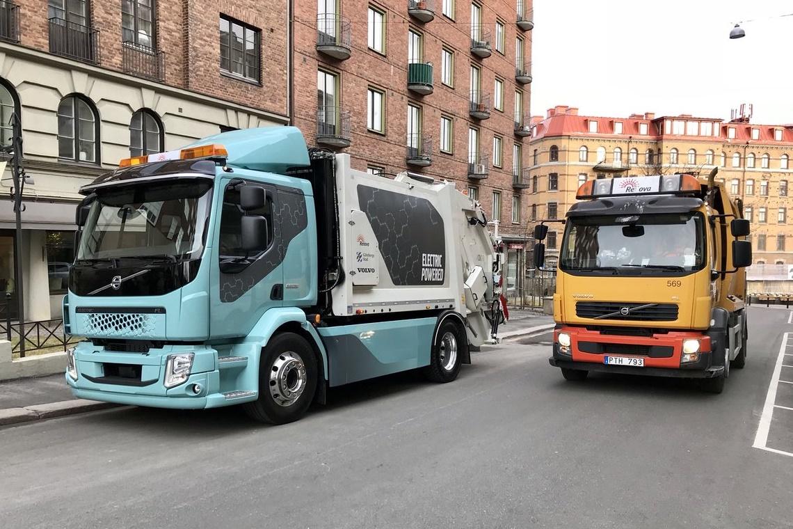 Imagem de Volvo apresenta seu primeiro caminhão 100% elétrico, o FL Electric no tecmundo