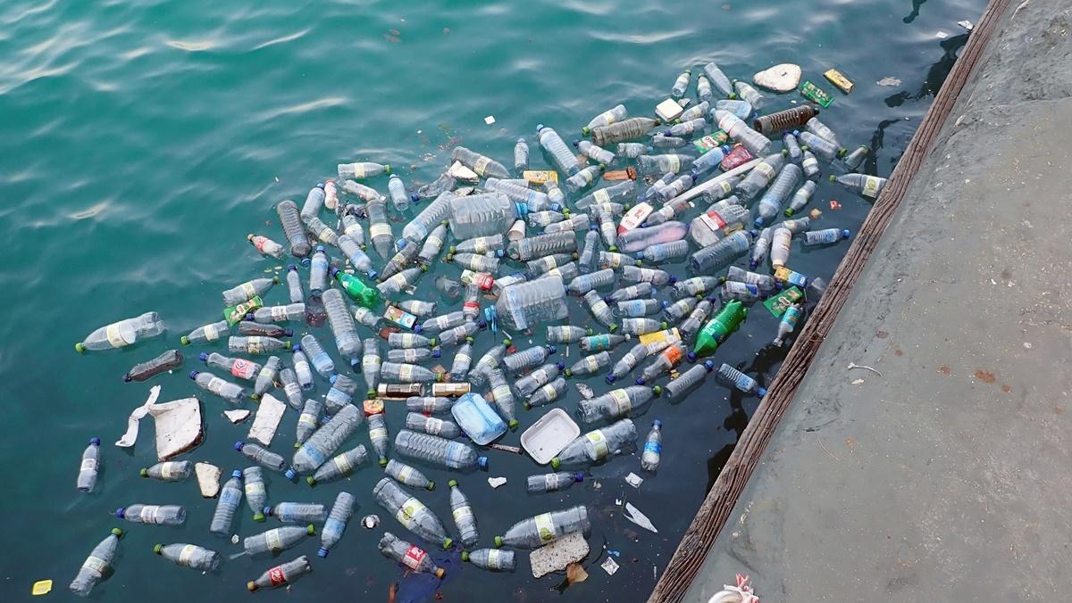 pet garrafa poluição plástico