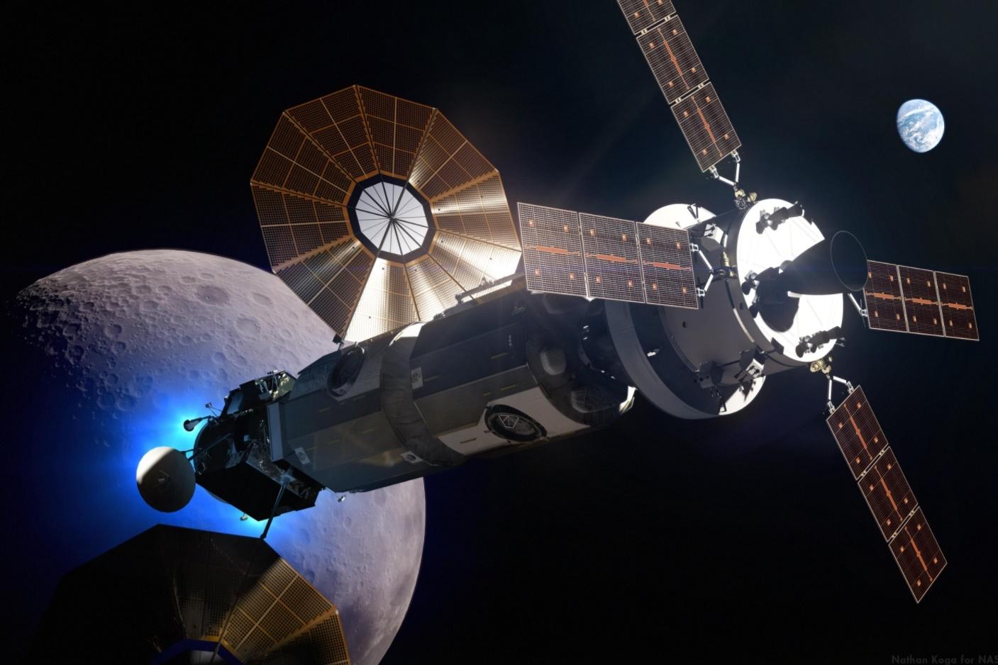 Imagem de Construção de estação espacial lunar começa em 2019, segundo a NASA no tecmundo