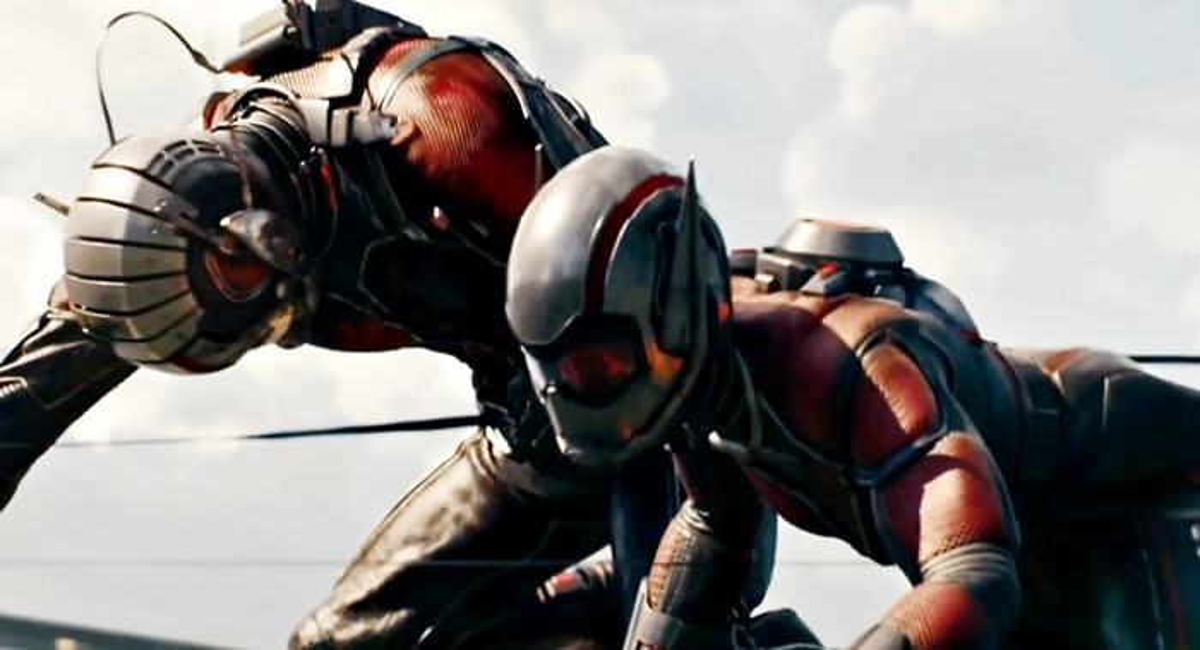 homem-formiga vespa marvel