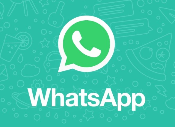 A logo do WhatsApp.