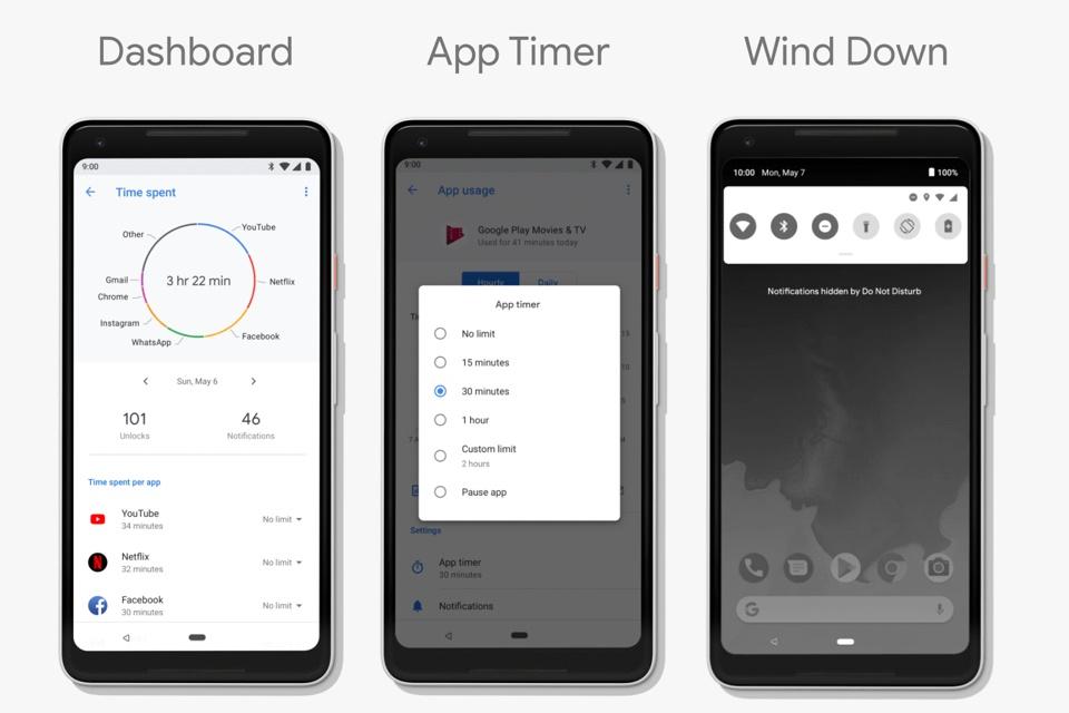 """Imagem de """"Bem-estar digital"""": como a Google quer que você use menos o seu smartphone no tecmundo"""