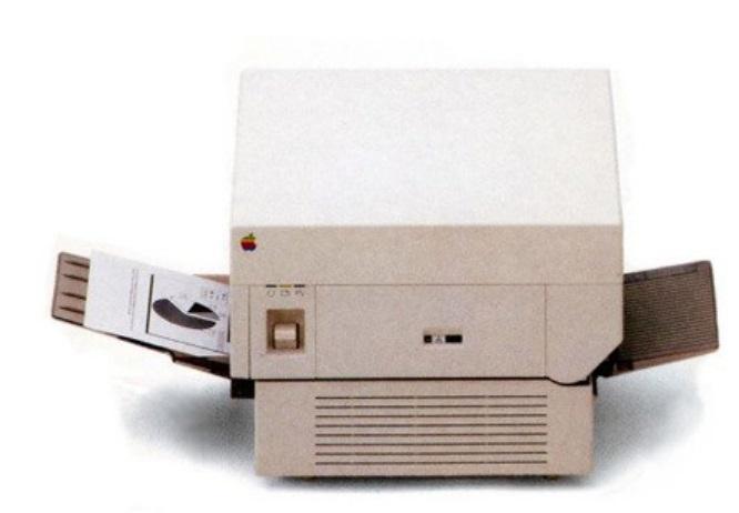 Uma impressora.