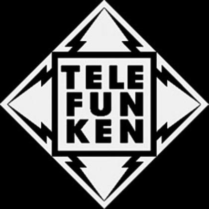 A logo da Telefunken.