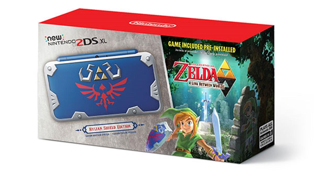 Imagem de Nintendo 2DS XL vai ganhar uma versão de Legend of Zelda! no tecmundo
