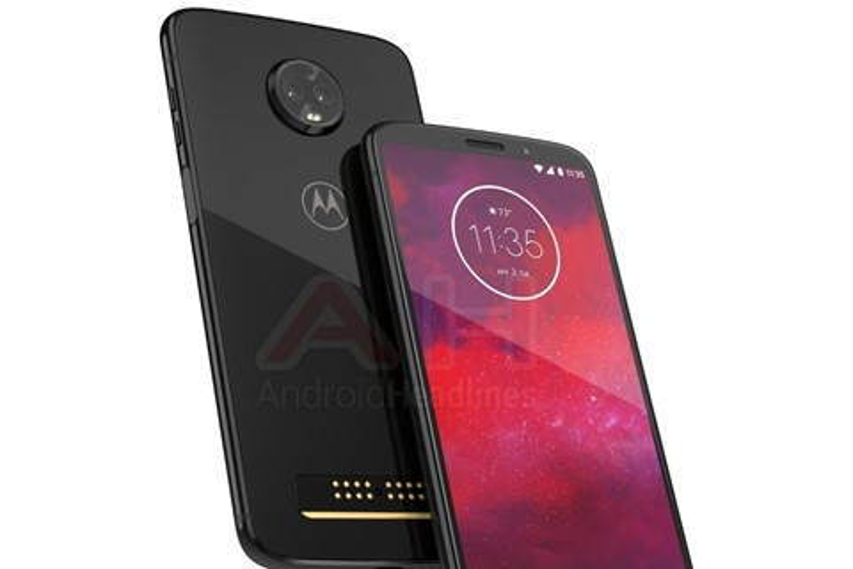 Imagem de Moto Z3: vaza primeira imagem do novo top de linha da Motorola no tecmundo