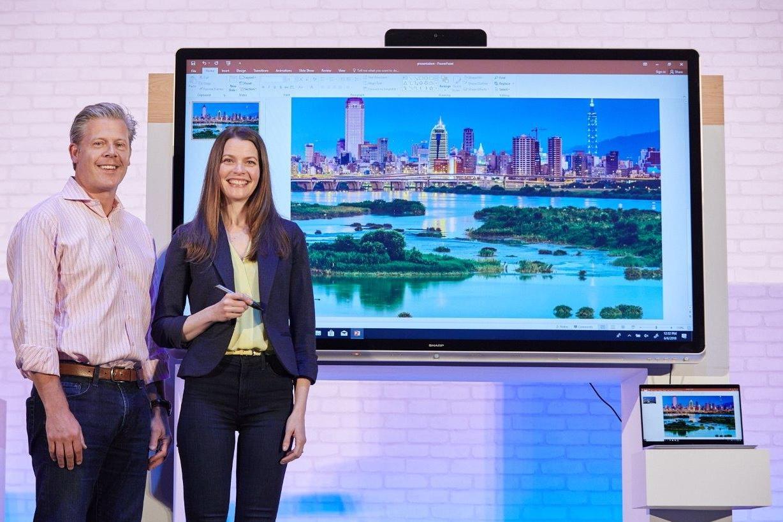 Imagem de Microsoft lança monitor inteligente dedicado às salas de reuniões no tecmundo