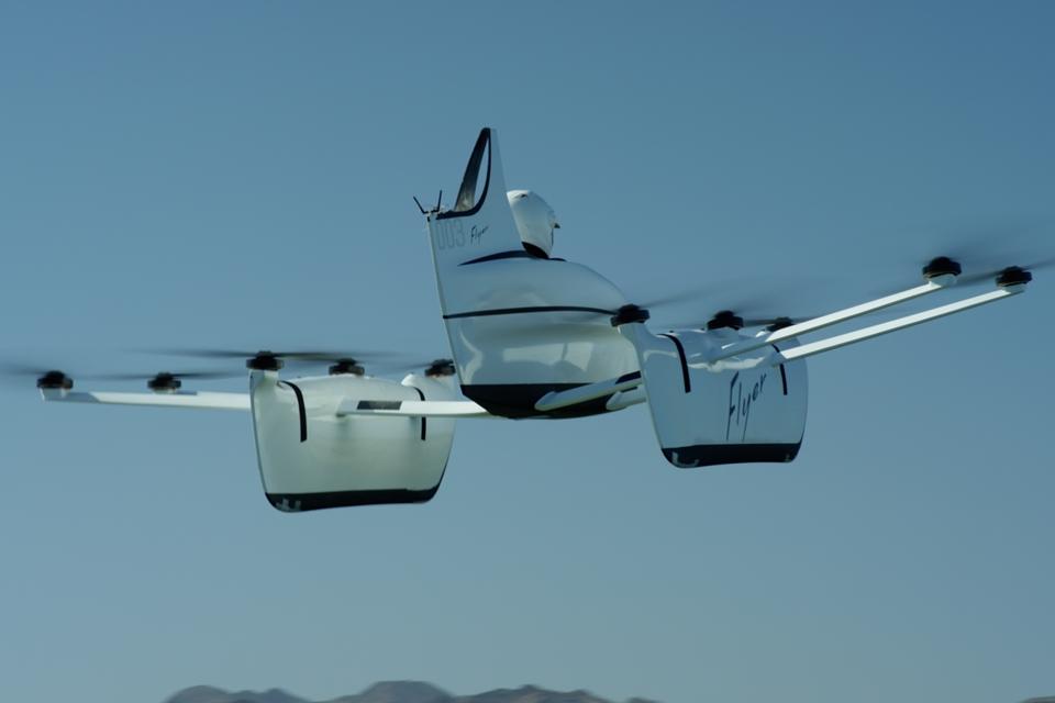 Imagem de Carro voador de criador do Google já está em fase de testes nos EUA no tecmundo