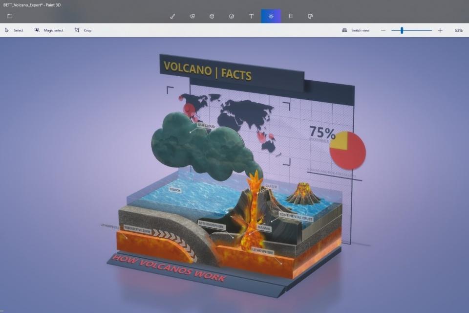 Imagem de Paint 3D agora permite salvar suas criações como vídeos e GIFs no tecmundo