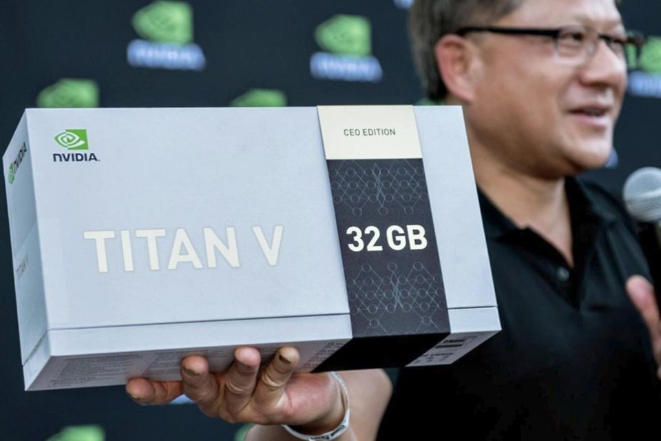 Imagem de CEO da Nvidia doa 20 placas Titan V com 32 GB VRAM para pesquisa de IA no tecmundo