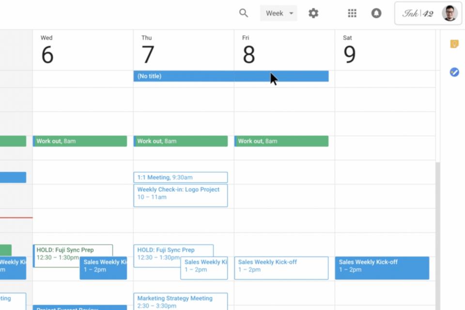 Imagem de Google Agenda poderá responder quem tentar marcar uma reunião nas férias no tecmundo