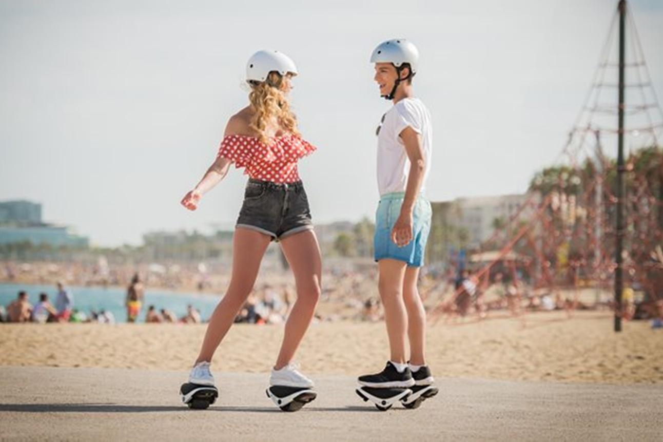 """Imagem de Segway anuncia novo """"e-skate"""", o Drift W1, que deixa cada pé independente no tecmundo"""