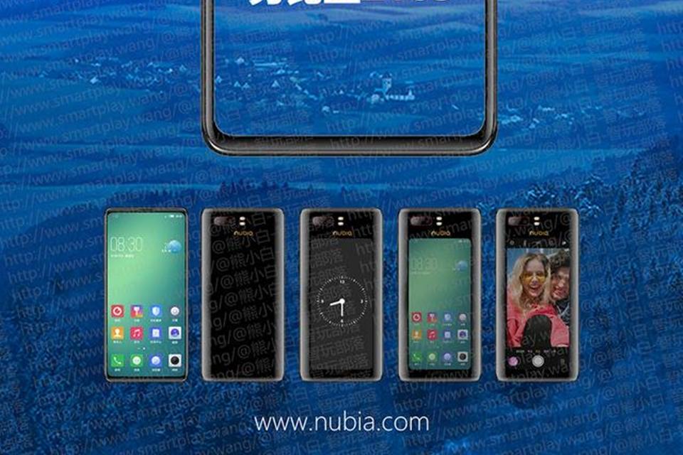 Imagem de Nubia Z18S pode ter uma segunda tela na parte traseira no tecmundo