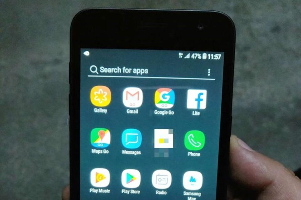 Imagem de Confira imagens do celular barateza da Samsung com o Android Go no tecmundo