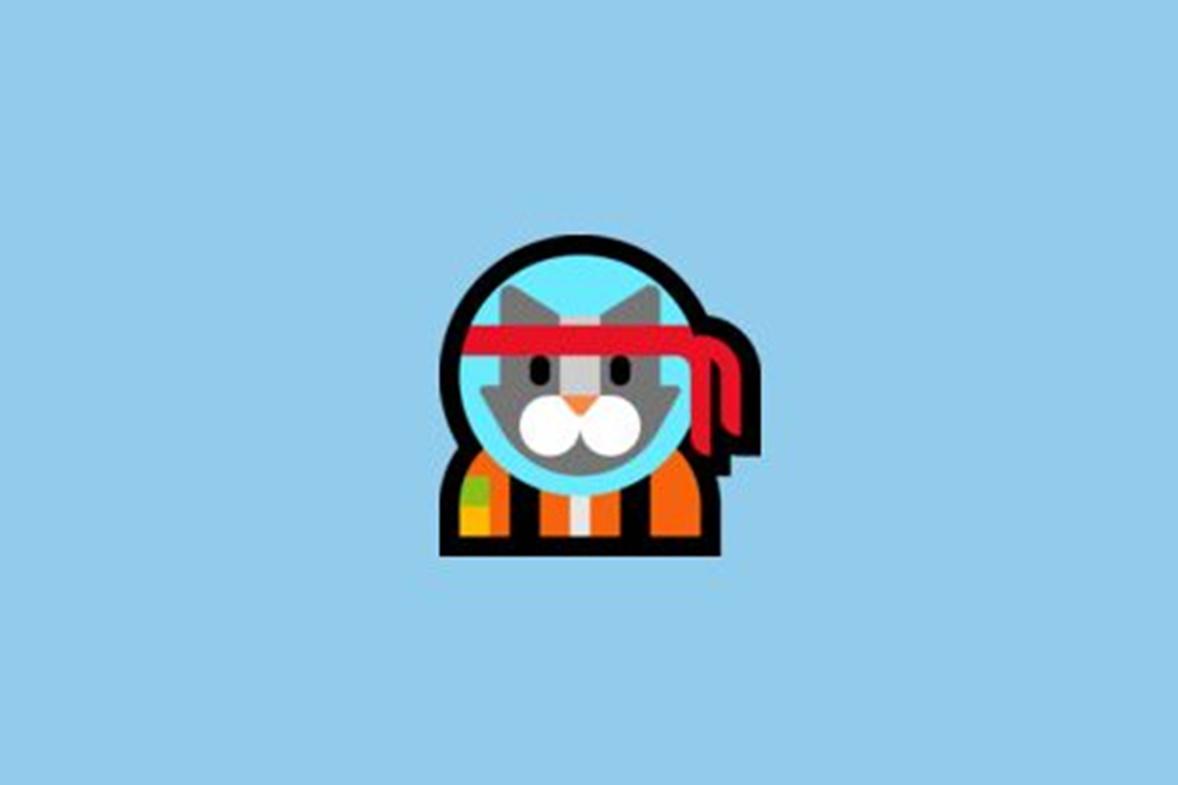 """Imagem de Conheça o """"Astro Cat"""", o novo emoji exclusivo do Windows 10 no tecmundo"""