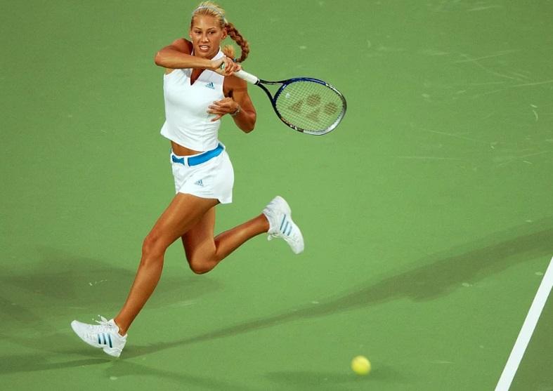 Uma tenista.