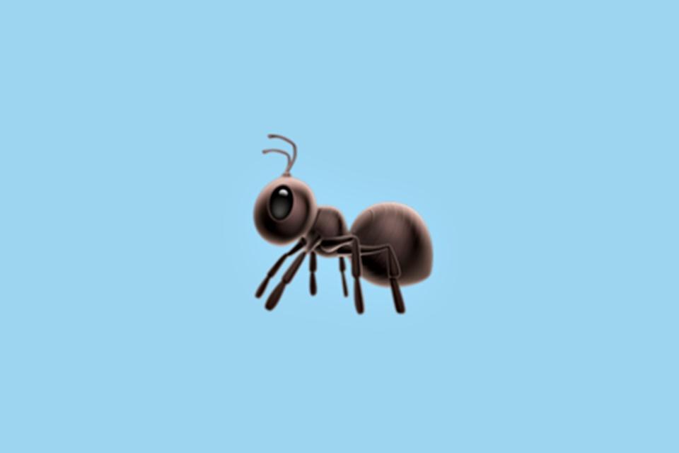 Imagem de Biólogos estão pistola por causa das representações das formigas nos emojis no tecmundo