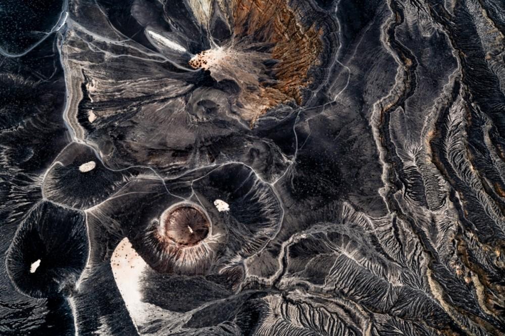 Crateras vistas de cima