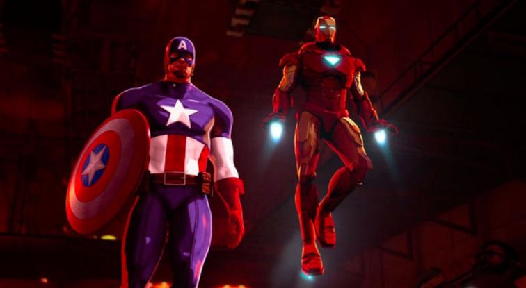 Dois super-heróis