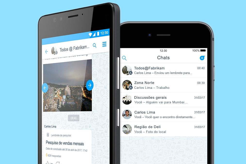 Imagem de Microsoft traz para o Brasil o Kaizala, seu app de mensagens para empresas no tecmundo
