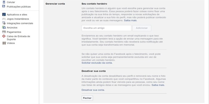 Como Excluir Definitivamente O Facebook Da Sua Vida Gazeta Do Cerrado