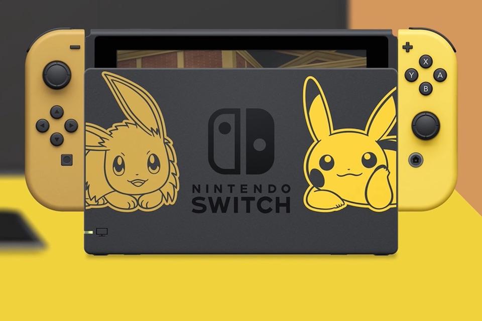 Imagem de Edição especial Pikachu & Eevee do Nintendo Switch é anunciada no tecmundo
