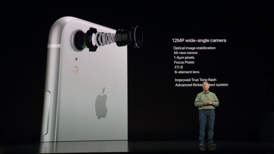 Apple iPhone Xr câmera camera