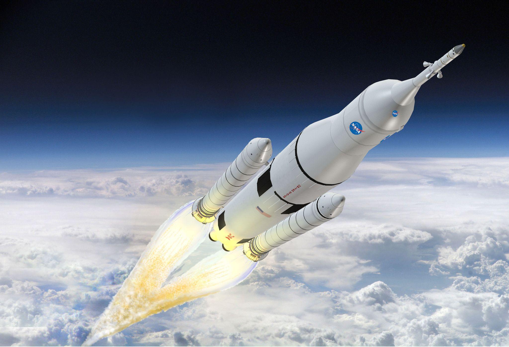 Imagem de NASA cogita usar patrocínio usando nomes de marcas em seus foguetes no tecmundo