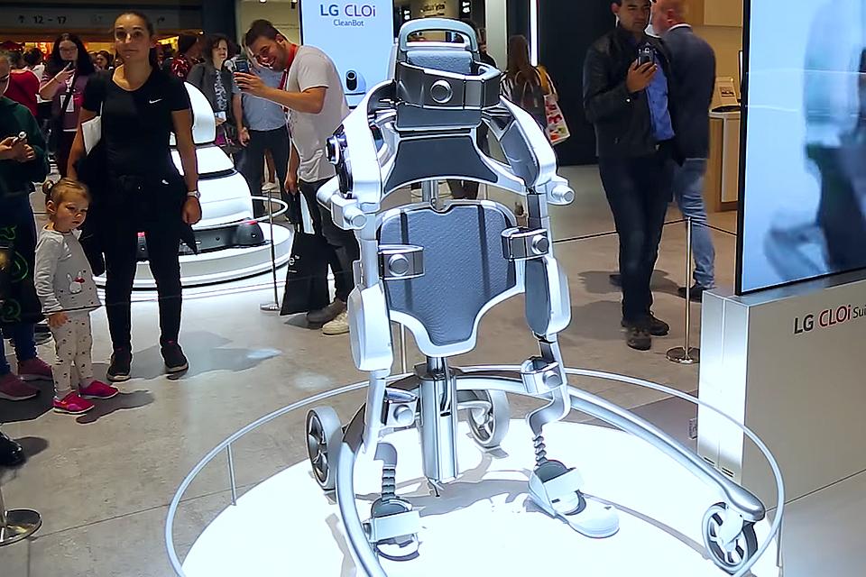 Imagem de De garçom a exoesqueleto, esses são os robôs-assistentes da LG [vídeo] no tecmundo
