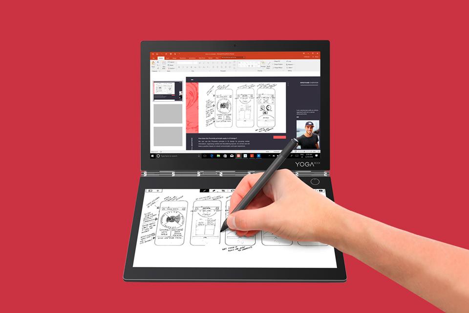 Imagem de Yoga Book C930: conheça o notebook de duas telas da Lenovo [vídeo] no tecmundo