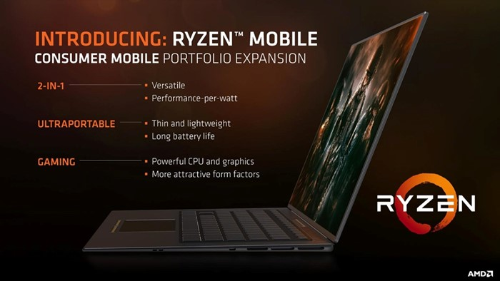 AMD Ryzen mobile notebooks