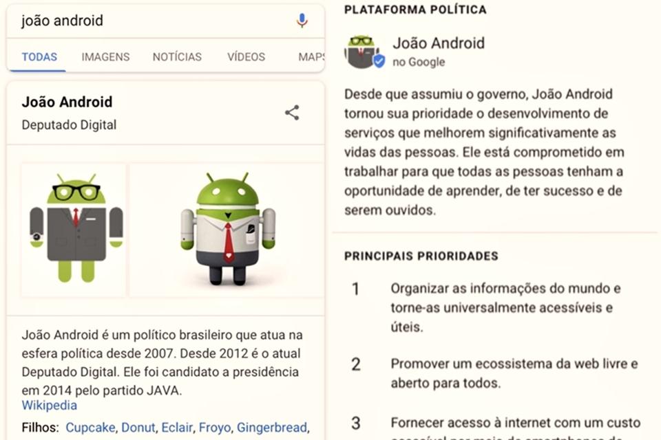 """Imagem de Google Eleições 2018 traz detalhes sobre candidatos e serve como """"colinha"""" no tecmundo"""