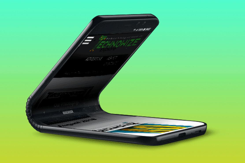 Imagem de Samsung registra possível slogan do Galaxy F, seu celular dobrável no tecmundo